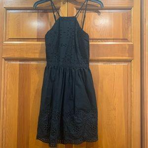 Gorgeous black eyelet spaghetti strap dress